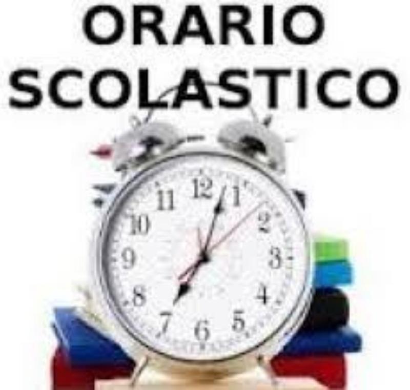 Orario Scolastico dal 11/01/2021